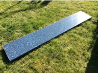 Bathroom Worktop - Blue Quartz Style