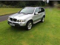 2005 BMW X5 SPORT D AUTO MOT SAT NAV PAN ROOF XENON LIGHTS