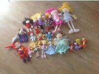 Dolls - Soft Dolls, Fairies, Puppets & Disney Soft Toys (21Items)