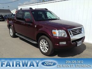 2007 Ford Explorer Sport Trac Limited 4WD Rare Find!  Extra Clea