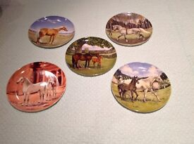 Horse Spode Plate Collection