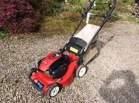 Toro lawn mower lawnmower Steel Deck Recycler 48cm well serviced approx 2 years old like new