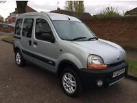 RENAULT KANGOO TRIKKA 4x4 16V EXCELLENT FAMILY CAR STARTS AND DRIVES PERFECT