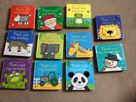 Set of 11 'That's not my.....' books