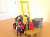Playmobil Forklift Truck (Set: 3003)