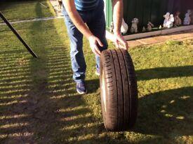Michelin spare tyre