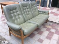 Ercol 3 Seater Settee plus 2 Matching Archairs
