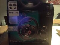PS3 driving force get official wheel of gran tourism's good condition