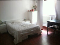 MASSIVE DOUBLE ROOM + cuddly lurcher in Stoke Newington- AVAILABLE NOW & SEPT!
