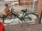 Raleigh vintage ladies bicycle Hercules commuter