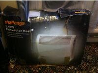 challenger 2.4 kw convector heater