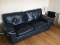 Beautiful Italian Leather Marks and Spencer Sofas