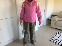 Ladies ski jacket & salopettes