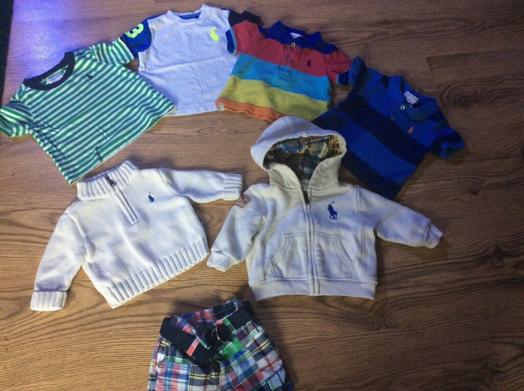 Baby boy 0-3 Ralph bundle