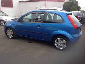 Ford Fiesta zetec climate 1.4 55 plate only 85000 miles 1 lady owner PSH (6 stamps) MOT ONE YEAR