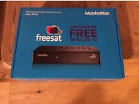 Manhattan freesat had set top box HD S2