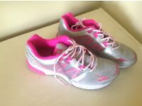 Pink working out women's trainers size 8