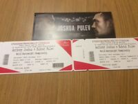 JOSHUA V TAKAM TICKETS X 2 28TH OCTOBER IN CARDIFF