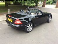 Mercedes SLK Convertible 03 Reg Coupe Full Electrics