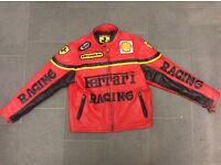 Child's Ferrari leather jacket