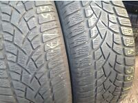 Winter tyres 225/50/17 - 225/55/17 sets & pairs free fitting open 7 days a week