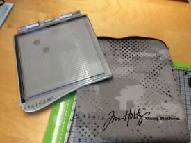 Tim Holtz Stamping Platform and cover