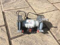 Bench top grinder and sharpener