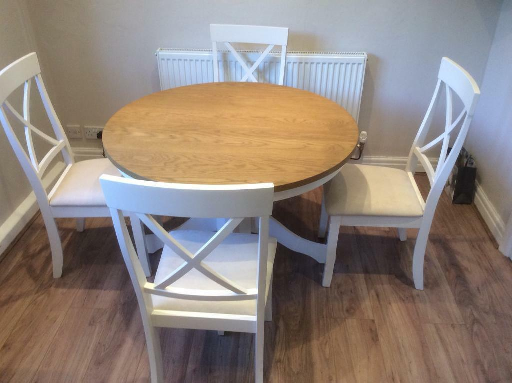 Dining Table With Four Chairs Brand New