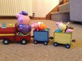 Peppa Pig Train and Horse & Cart