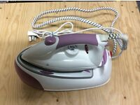 Morphy Richards Jet Steam 2200 W Steam Generator Iron - Purple