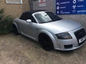 Audi TT Quattro modified 180