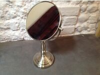 Double sided magnifying mirror for sale