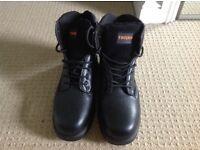 Trojan Steel capped Work boots