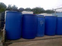 Clean Multiple use 205 L water barrel 45 gallon
