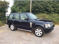 Range Rover vogue 4.4 V8 HSE low miles, upgraded satnav, 11 months mot
