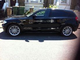 BLACK BMW 1 SERIES 1.6 2006