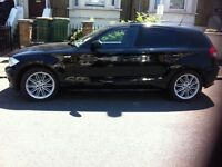 BLACK BMW 1 SERIES 1.6 2006