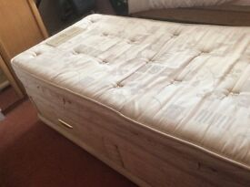 Sealy Posturpeadic Ultra Luxe 3ft Divan Bed