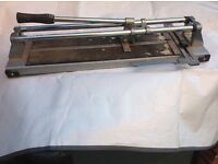 Heavy duty wall and floor tile cutter
