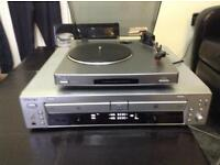 Sony Turntable and Compact Disc Recorder