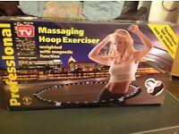 Massaging hoop