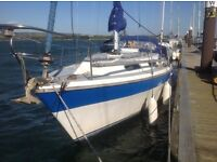 Colvic Countess 28 Sailing Yacht. Ideal family boat . 2016 surveyors report available to viewers