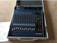 Yamaha MG16/4 Mixing Desk and Flight Case