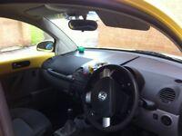 yellow vw beetle 1.9tdi