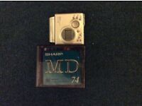 Mini discs and player