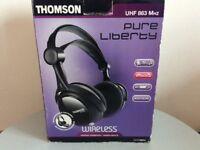 Thomson wireless headphones new in box