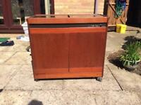 Hostess Trolley. Phillips make. Perfect working order but a bit scratched from storage