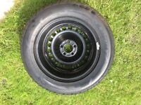 Ford Galaxy TDi spare wheel and tyre