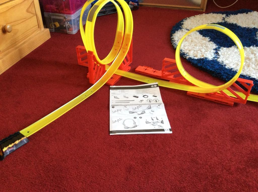 Hot Wheels Like Track From Tescos With Instructions Only 5 In