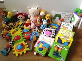 Baby First Toys (Grandma's stash!)
